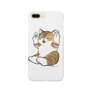 喜ぶ猫 Smartphone cases