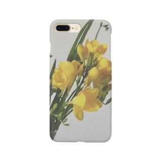 きいろの花 スマートフォンケース