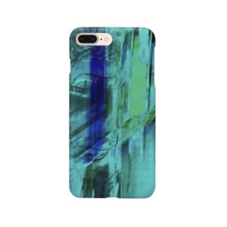 海の中を彷徨う② Smartphone cases