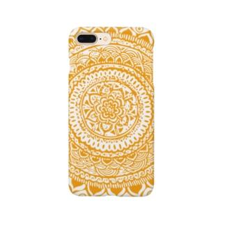 サークル・オレンヂ Smartphone cases