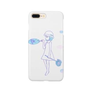 夏の少女 Smartphone cases