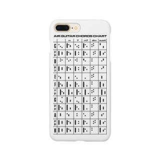よシまるシンのAIR GUITAR CHORDS CHART Smartphone cases