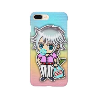 サントスくん Smartphone cases