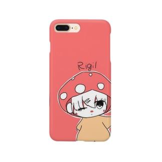 きのこ グッズ Smartphone cases