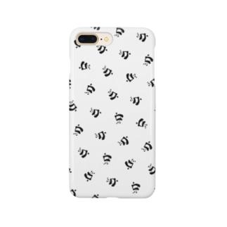よく見たらパンダ(柄) Smartphone Case