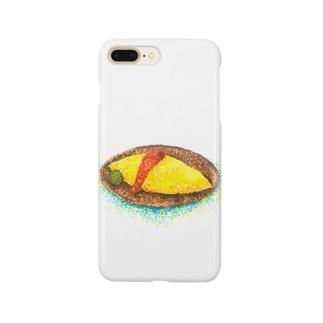 てんてんオムライス Smartphone cases