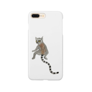 💕 with ワオキツネザル❤️ Smartphone cases