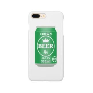 缶ビール Smartphone cases