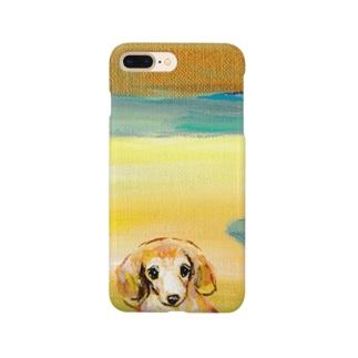 風景ダックス Smartphone cases