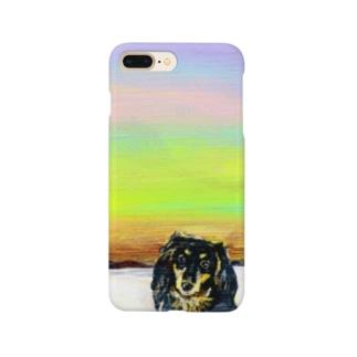 黒ダックス Smartphone cases