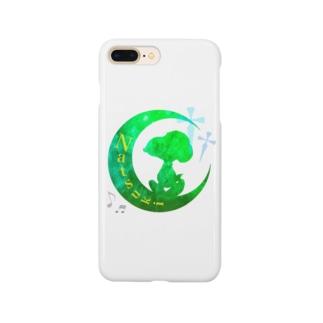 お月様    Ver.らべさん Smartphone cases