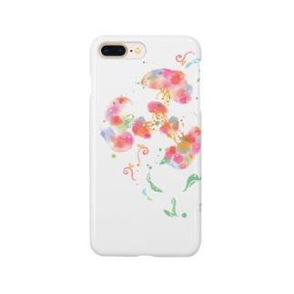 くらげお花 Smartphone cases