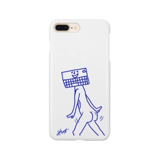 キーボード便器くん Smartphone cases