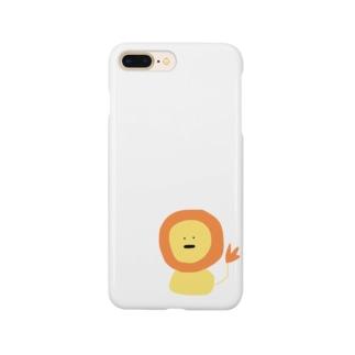 ライオンさん Smartphone cases