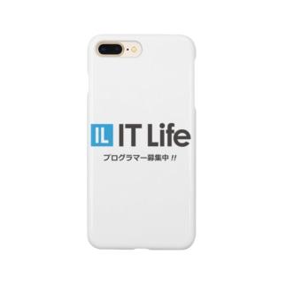 IT Life - プログラマ募集ver Smartphone cases