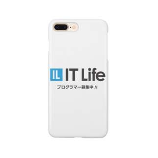 IT LifeのIT Life - プログラマ募集ver Smartphone cases