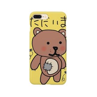 クマステ Smartphone cases