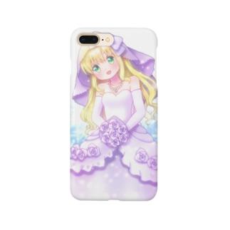 ジューンブライドちゃん Smartphone cases