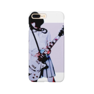 ギターガール(B1)006 Smartphone cases