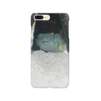 ふぐくん Smartphone cases
