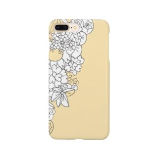 クリーミーフラワーズ Smartphone cases