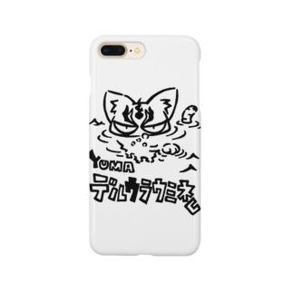 カリツォーのデルウラウミネコ Smartphone cases