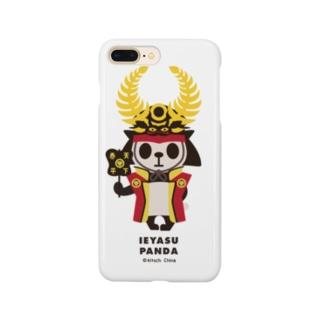 カブリモノ徳川家康パンダ Smartphone cases