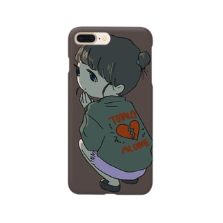TOTALLY ALONE Smartphone cases