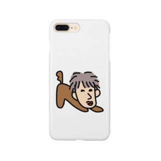 たか爺の伸び Smartphone cases