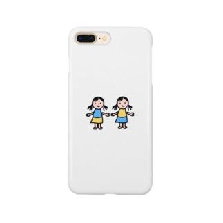 母作双子ガールズ Smartphone cases