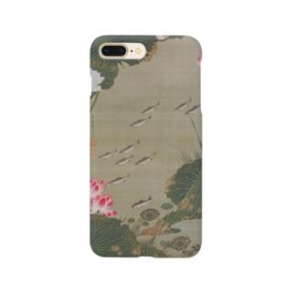 伊藤若冲 《蓮池遊魚図》 Smartphone Case