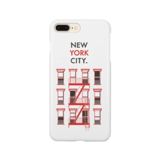 NEW YORK CITY [RED] Smartphone cases