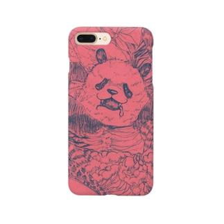 邪神パンダさん Smartphone cases