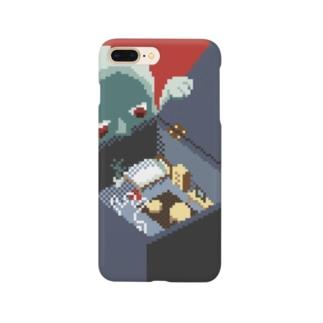 ワンルーム狂想曲(赤) Smartphone cases
