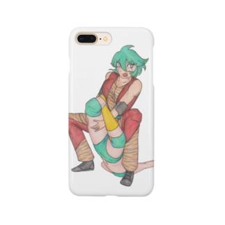 ギャラリー桃胡亭のテキサスクローバーホールド Smartphone cases