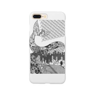 切り絵・ゴールデンスランバー Smartphone cases