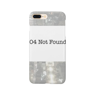 techfesの404 Not Found Smartphone cases