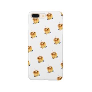 パンケーキ柄 Smartphone cases