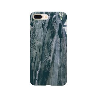 大きなイチョウの木(カラー) Smartphone cases