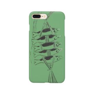 しばりさかな(みどり) Smartphone cases