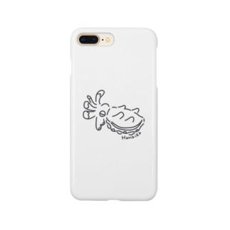 ひらひらハナイカちゃん Smartphone cases