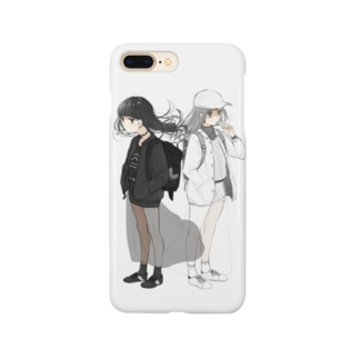BLACK×WHITE Smartphone cases