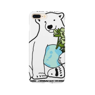 Simple Polar Bear スマートフォンケース