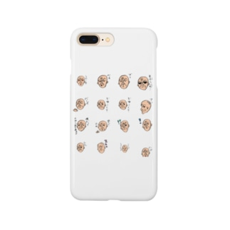 ハゲオヤジ Smartphone cases