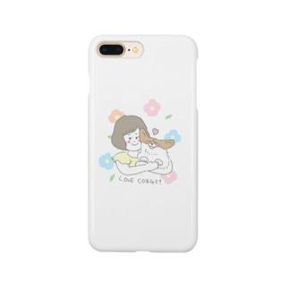 ぎゅっとコーギースマホケース Smartphone cases