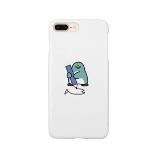 小さいペンギンさんのスマホケース Smartphone cases
