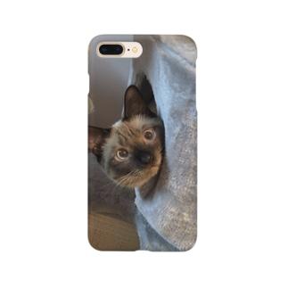 たにんごch公式ショップ【猫】のうたまろスマホケース Smartphone cases