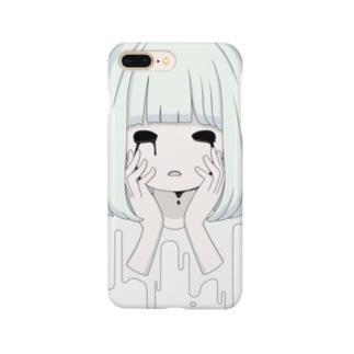 かなしみガール(もじなし) Smartphone cases