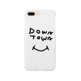 ダウンタウン スマイル Smartphone cases