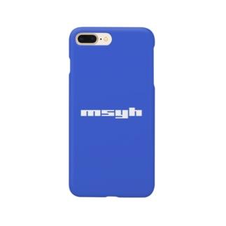 [Special Color] msyh Logo Cobalt Blue Smartphone cases